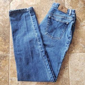 Ralph Lauren High Rise Straight Leg Jeans